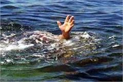 the family did not give place the hurt young man jumped into the ganges maith