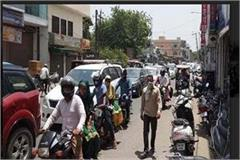 crowd not stopping 21 challan chased 7 vehicles seized