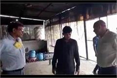 raiding the dhaba holding an accused with 5 kg of sawdust