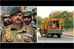 martyr colonel ashutosh sharma will be cremated in jaipur tomorrow