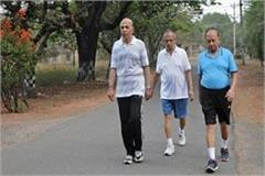 up good news for morning walkers cm yogi orders to open the park