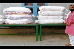 lockdown rss distributed ration to poor muslims in ramadan