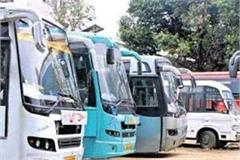 private buses will not run in himachal from june 1