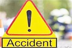 banda migrant laborer going to deoria dies in road accident