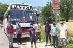 32 youth reached kangra from gujarat after traveling for 3 days