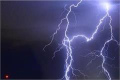 thunderstorms wreaked havoc in up two people lost their lives due