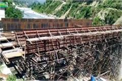 works stopped for 1 month started again in chamba