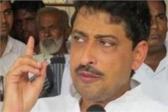 mla imran masood lashed out at the opposition persecution of a section in