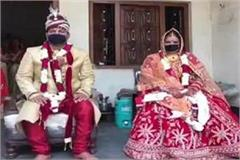 female wrestler anshu tomar got married social distancing