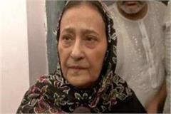 tauheed siddiqui appeals to cm to release azam khan s wife on parole