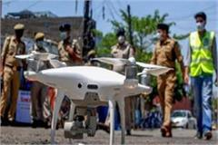 monitoring of 11 hotspot areas in bulandshahr with drone cameras