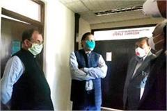 education minister inspected the indus hospital