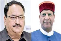 jp nadda accept resignation of rajeev bindal