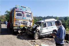 accident on pathankot mandi nh