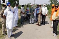 satti inspect the paths in border area
