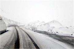 snowfall in rohtang pass