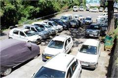 now vehicles will not get entry in the main market of chamba