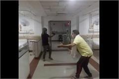 corona infected patients danced to haryanvi songs in hospital