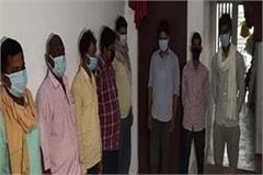 anti corruption squad arrested 8 including 2 soldiers doing illegal recovery
