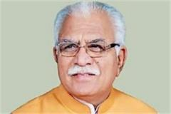 elections done directly decision not be changed manohar lal