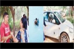 government contractor s car found on the bhakra canal