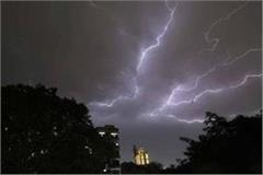 meteorological department s warning strong rains may occur in