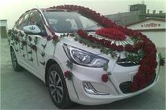 doli car attacked with sharp weapons fired on the bride and groom