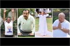these celebrities also practiced yoga on yoga day
