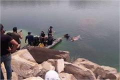 two youths died drowning in artificial lake