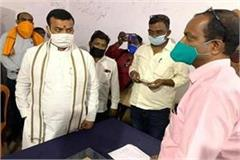yogi s minister reached district supply office on surprise inspection