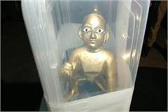 police arrested young man recovered ancient and prized laddu gopal idol