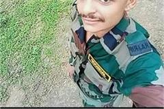 haryana news fauji committed suicide by hanging himself in the house