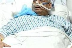 minor improvement in health of mp governor lalji tandon