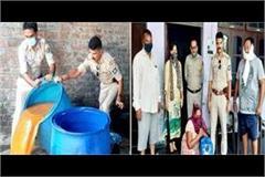 dumtal illicit liquor recovered