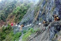 traffic jam in chamba