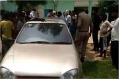 moradabad 4 innocents locked in car due to carelessness