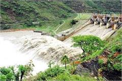 water can be released at any time from pandoh dam