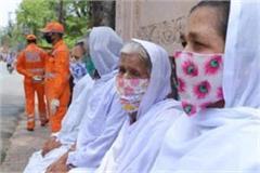 vrindavan widows celebrated international widows day by launching masks