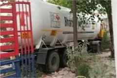 lpg tanker rammed into police station uncontrolled stirred up