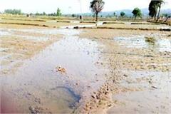 flood in villages due to released the water from dam