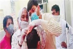attack on mahant condition critical accused under control