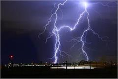 lightning wreaked havoc in many districts of up 23 dead