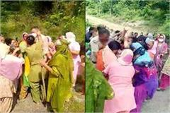 women beaten the post incharge in young man s death case