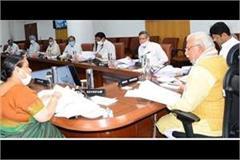 42 agendas stamped in haryana cabinet meeting cm manohar informed