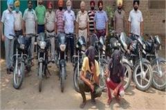 cia staff gets huge success 2 stolen including 8 motorcycles stolen