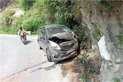 car and tipper accident in chamba