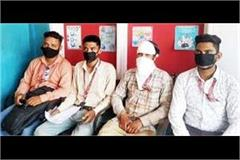 1 13 lakh robberies robbed from finance company employee at the tip of datar