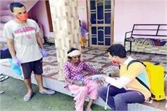 ncp leader sanitizes 5 villages
