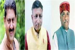 these 3 leaders got entry in jairam cabinet