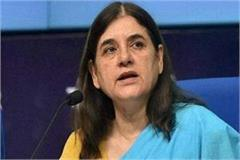 maneka gandhi wrote a letter to fix roads
